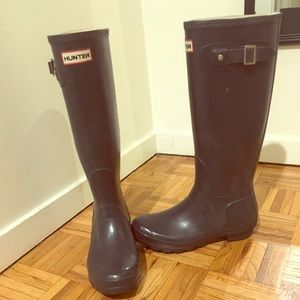 Original Tall Gloss Hunter Rain Boots
